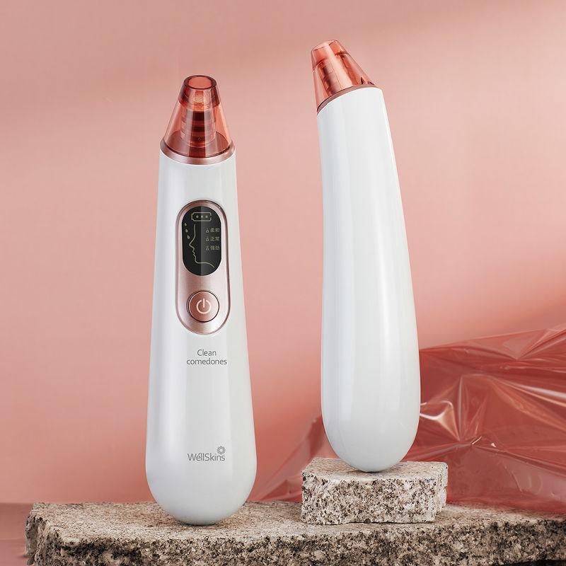 Аппарат для вакуумной чистки кожи лица xiaomi wellskins wx ht100 массажер силиконовый для тела