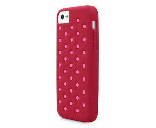 X-Doria iPhone 5C Spots розовый