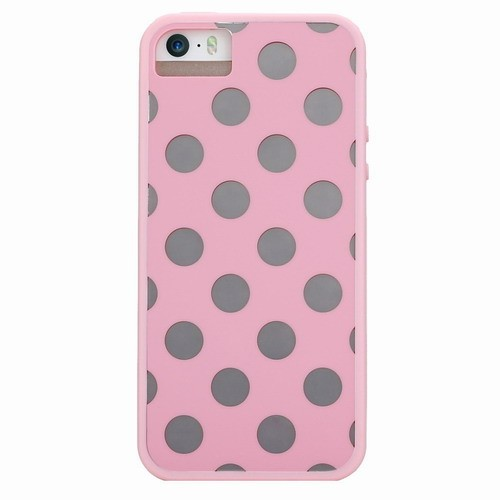 X-Doria iPhone 5C Scene Plus Dots розовый