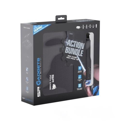 Набор SP Gadgets Action Bundle (кейс + монопод) 53091 для GoPro, Xiaomi, SJCAM, EKEN