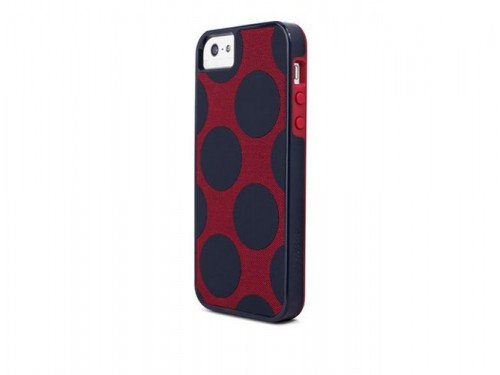 X-doria Dash Icon Case для Apple iPhone 5/5S Navy Dots