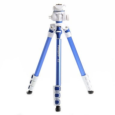 Штатив Fotopro Aluminum Photo Video Tripod S3 голубой