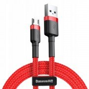Baseus Cafule Cable USB For Type-C 2A 2м CATKLF-C09 Кабель USB Type-C Red