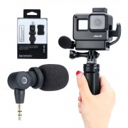 Telesin Vlog Kit Set рамка, микрофон и свет для GoPro HERO7 Black, HERO6, HERO5, HERO 2018